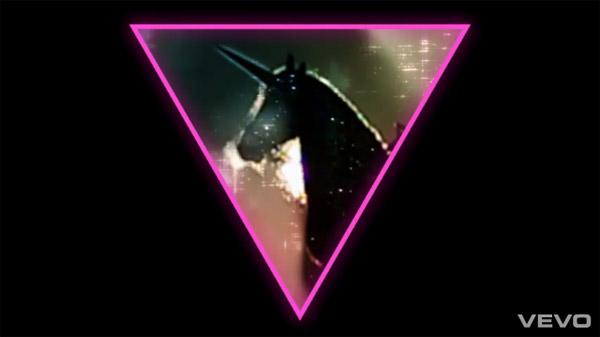 Lady Gaga 'Born This Way' unicorn
