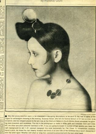 The Times 1972 Susanna Heron