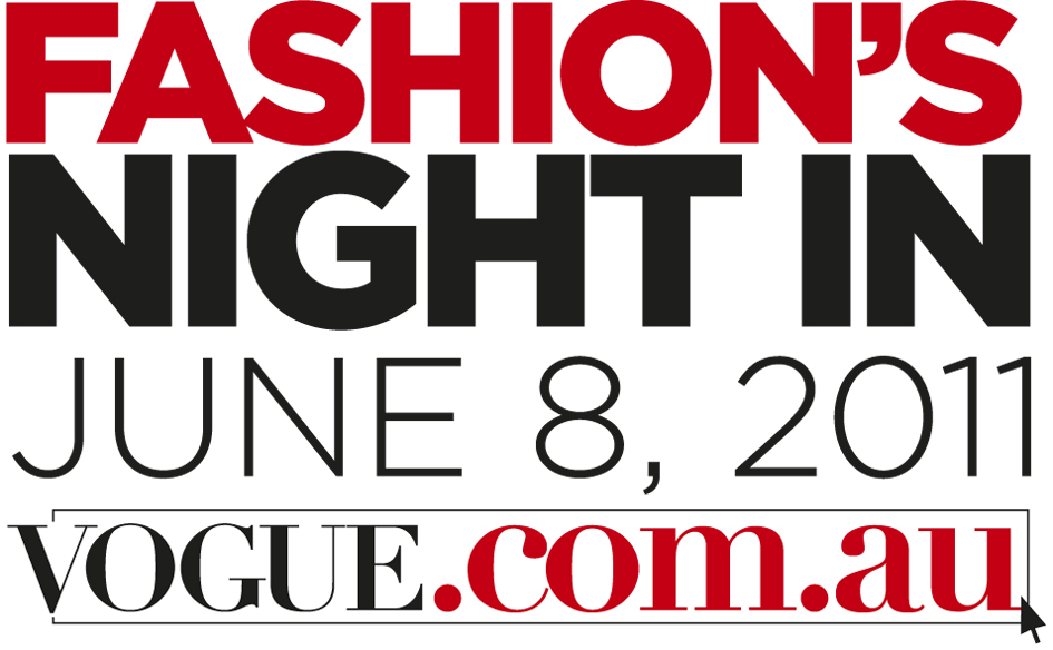 Fashion's Night In with Vogue Australia
