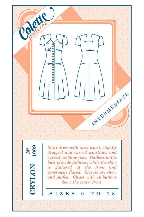 Colette Patterns Ceylon
