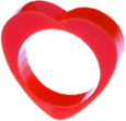 Tatty Devine Heart Ring