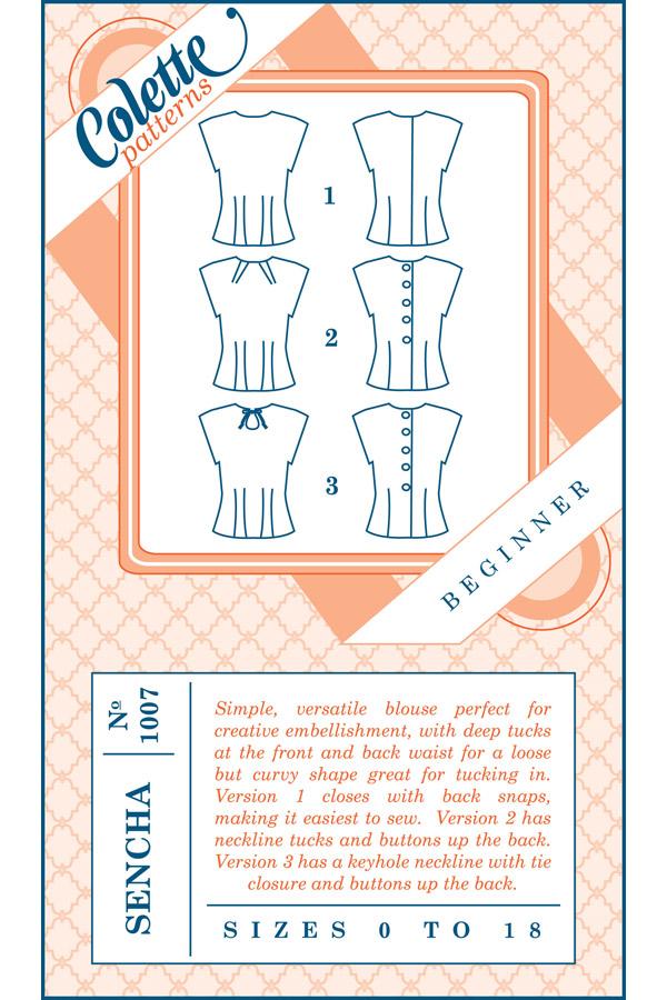 Colette Patterns Sencha
