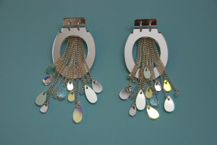 Tatty Devine toilet earrings