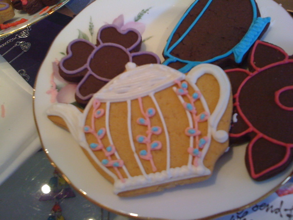 Teapot from Biscuiteers at Tatty Devine