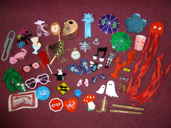 Tatty Devine brooches