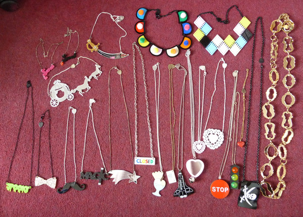 Tatty Devine necklaces