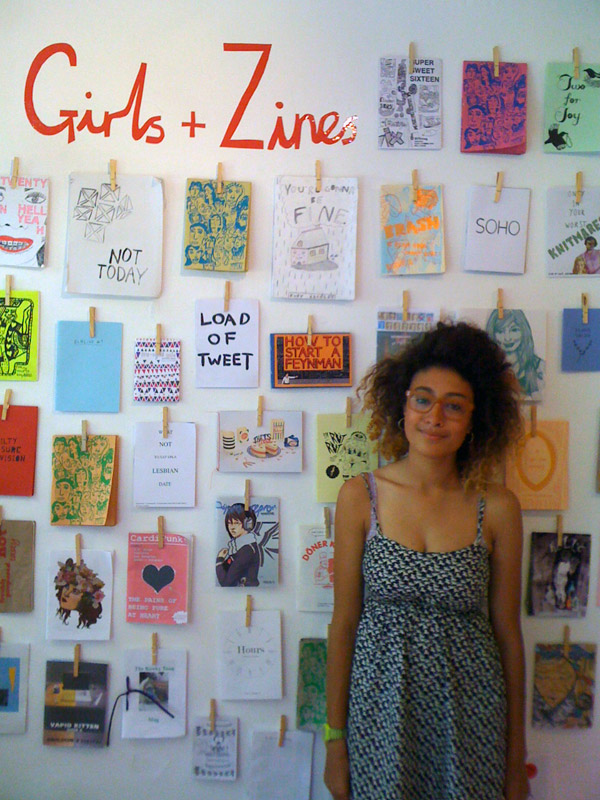 Barbara Ryan curates Girls + Zines at Tatty Devine