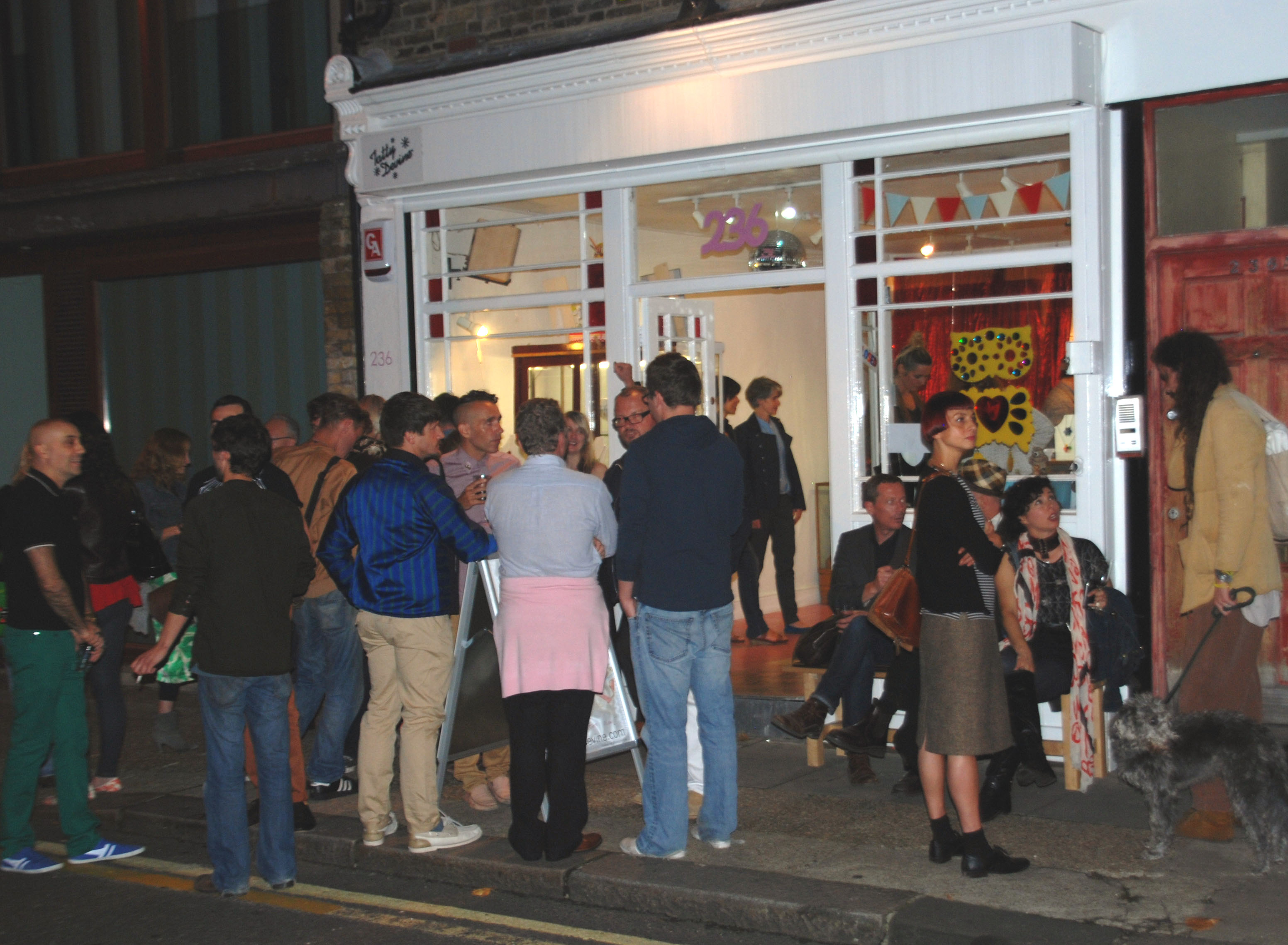 Pansy Project launch Brick Lane