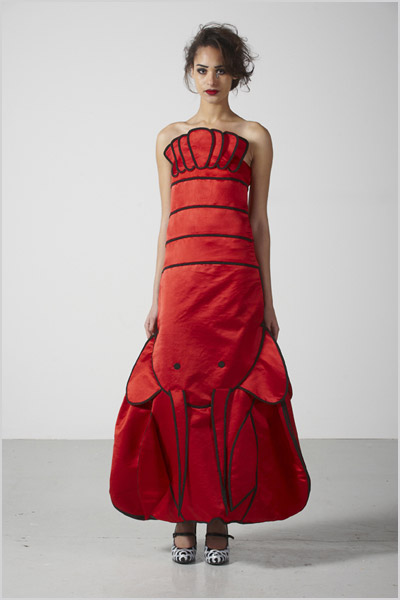 The Rodnik Band lobster dress