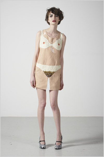 The Rodnik Band nude dress