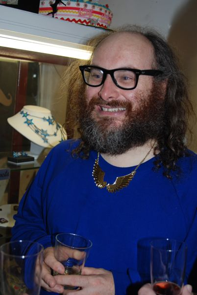 Rob Ryan in Tatty Devine Pegasus Necklace