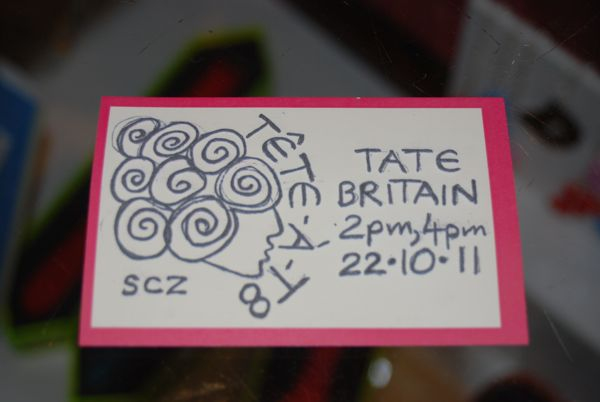 Tete-a-T8 at Tate Britain