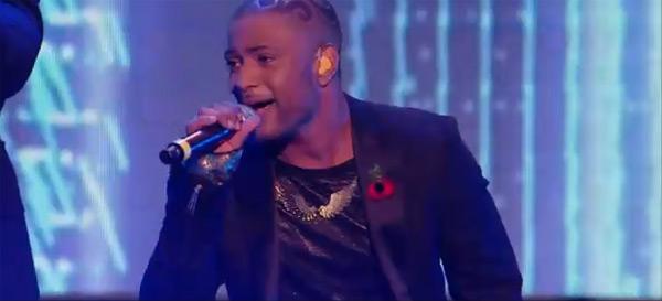 JLS's JB in Tatty Devine Pegasus Wing Necklace