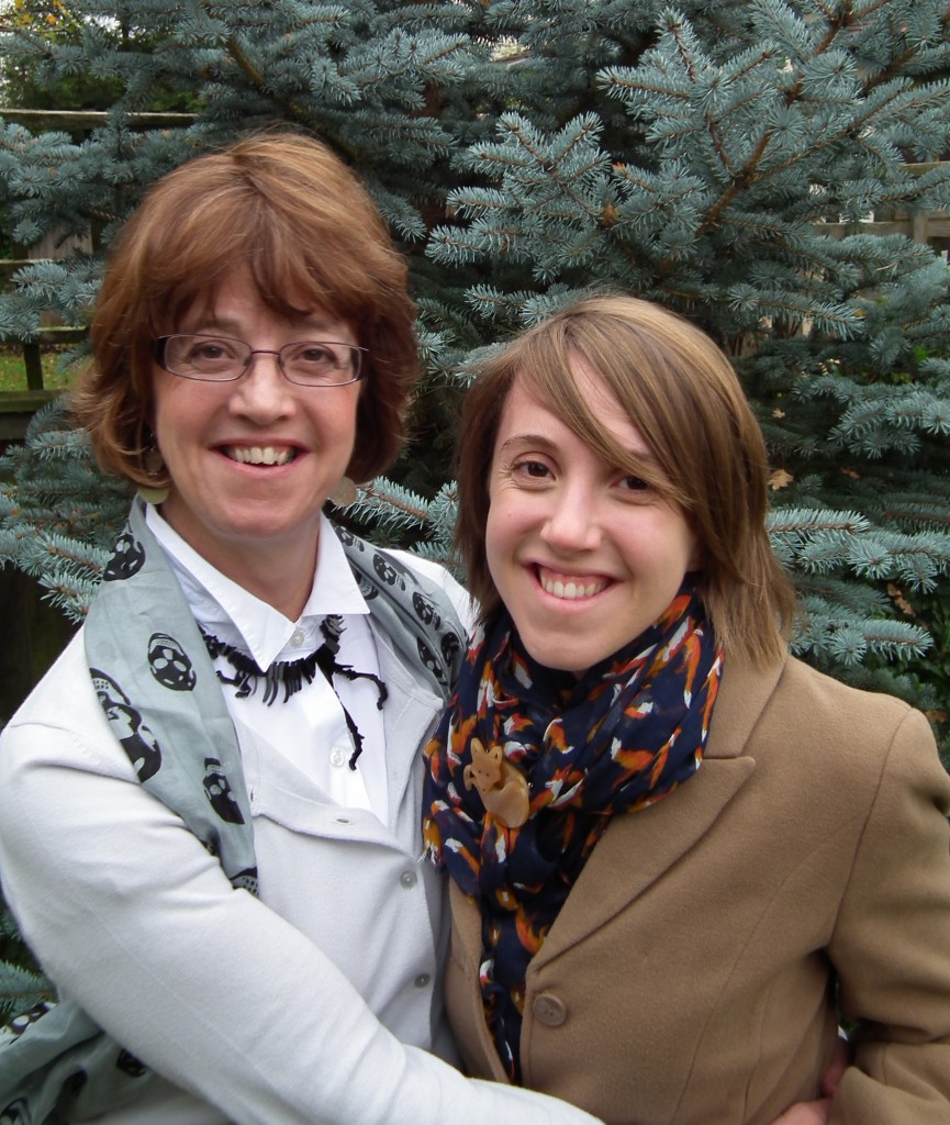 Cath Fox and daughter Steph Fox