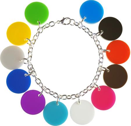 Tatty Devine for Tate Colour Spot Charm Bracelet