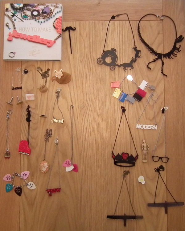 Steph and Cath Fox's Tatty Devine collections