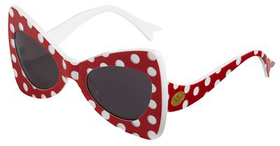 Tatty Devine polka dot sunglasses for John Lewis