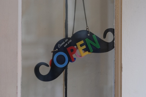 Tatty Devine open sign