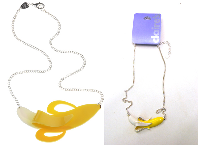 Banana Necklaces