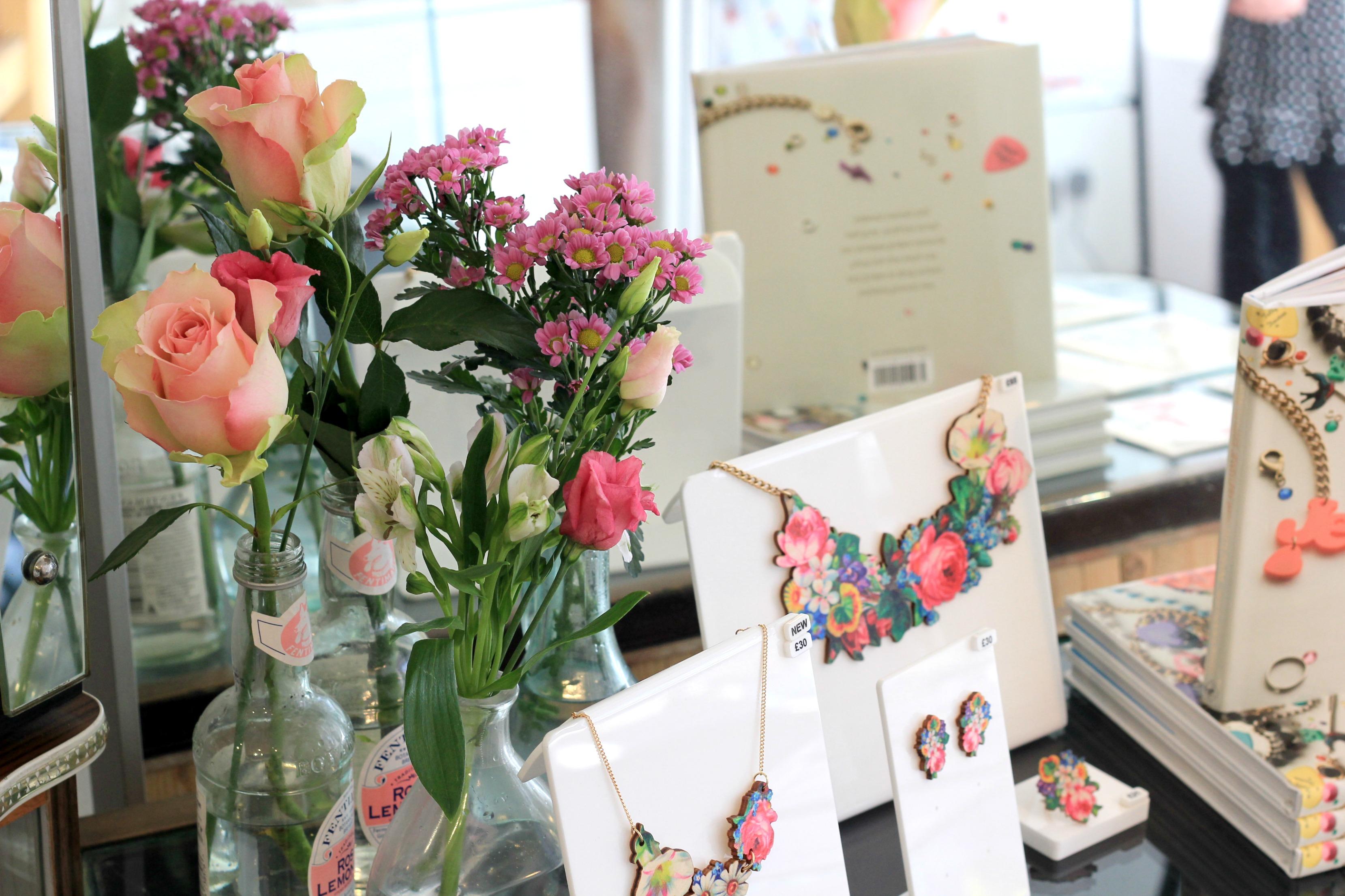 Tatty Devine Decoupage Flower