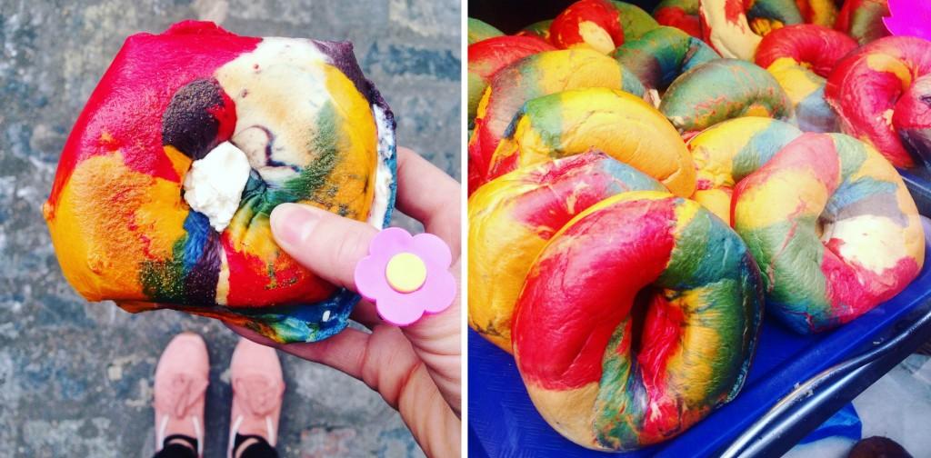 brick lane rainbow bagels