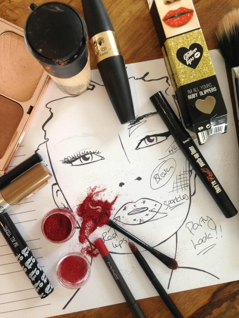 glitter-lips