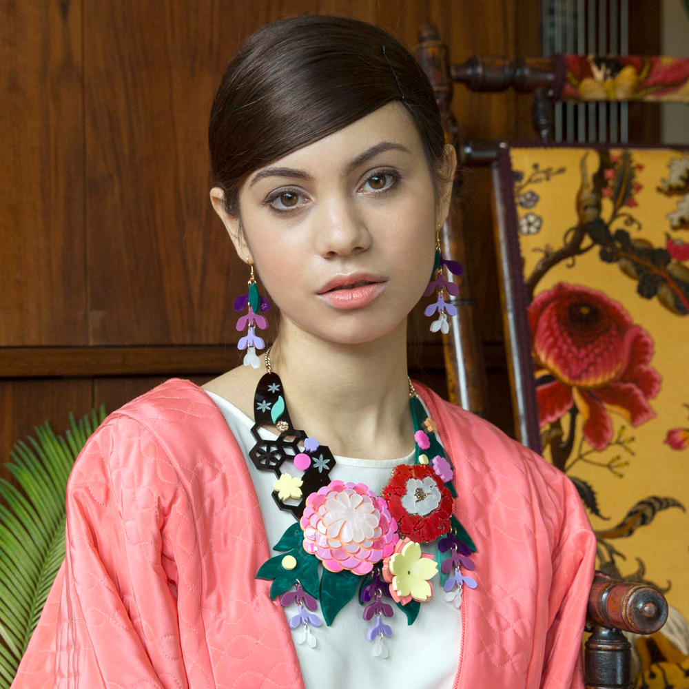 Kimono Bloom Statement Necklace