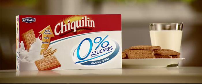 Miniatura del spot Chiquilín 0% Azúcares