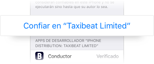 Trust taxibeat limited