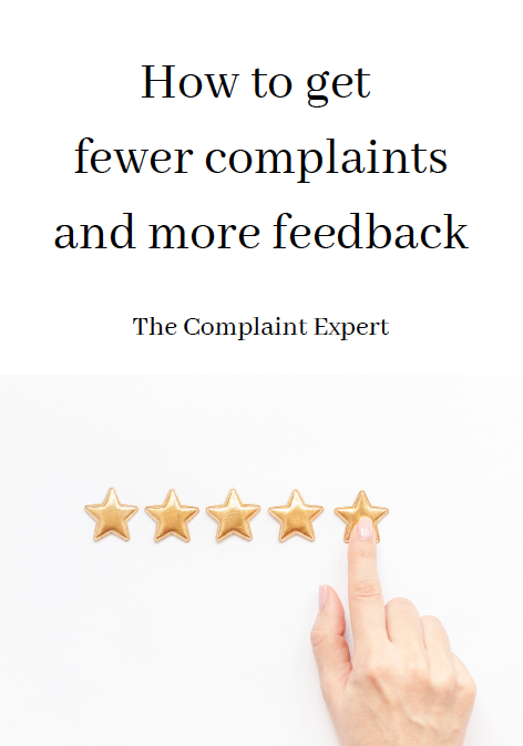 How to get Fewer Complaints