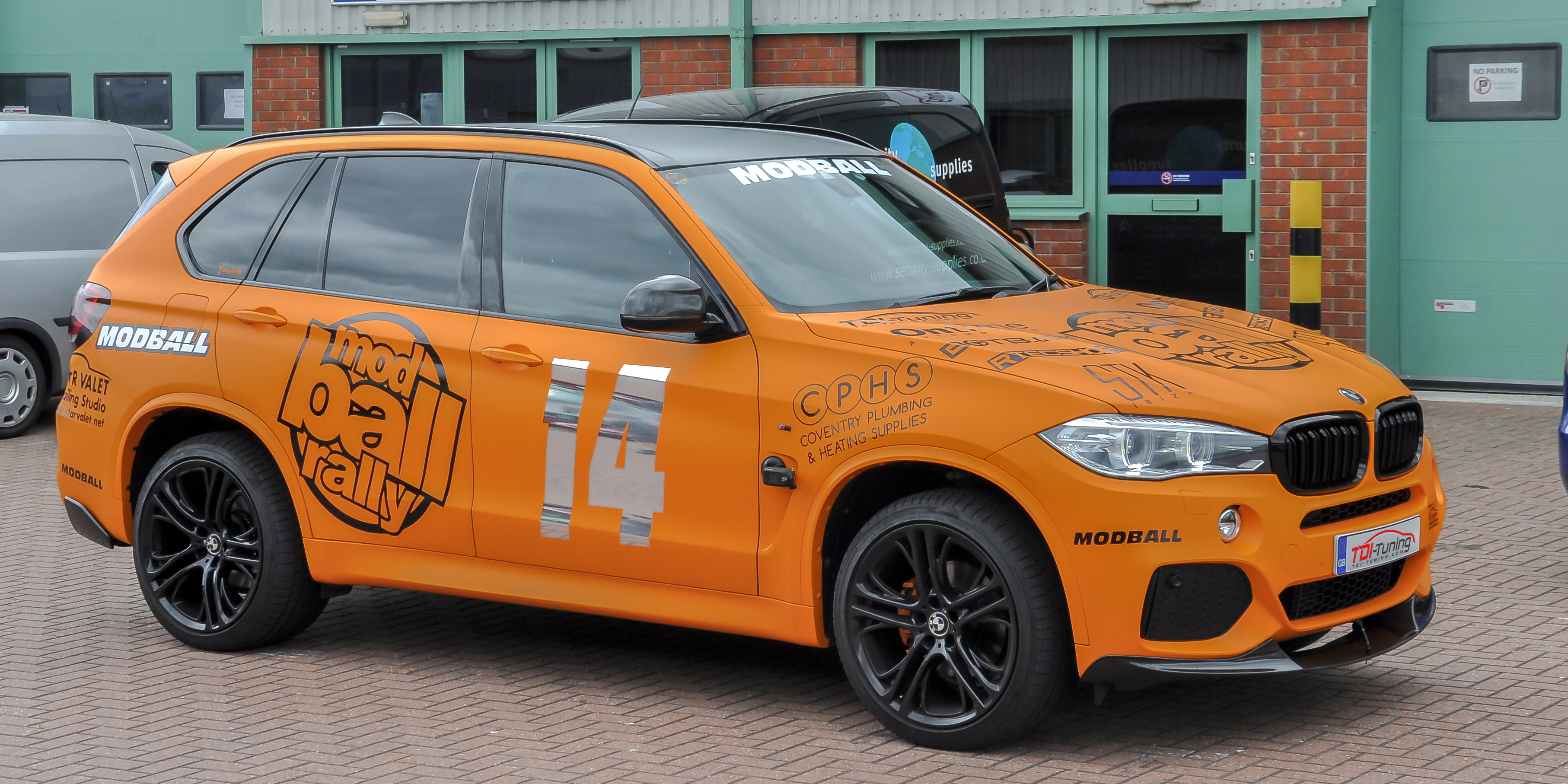 TDITuning  July Car of the Month  BMW X5  Modball Rally