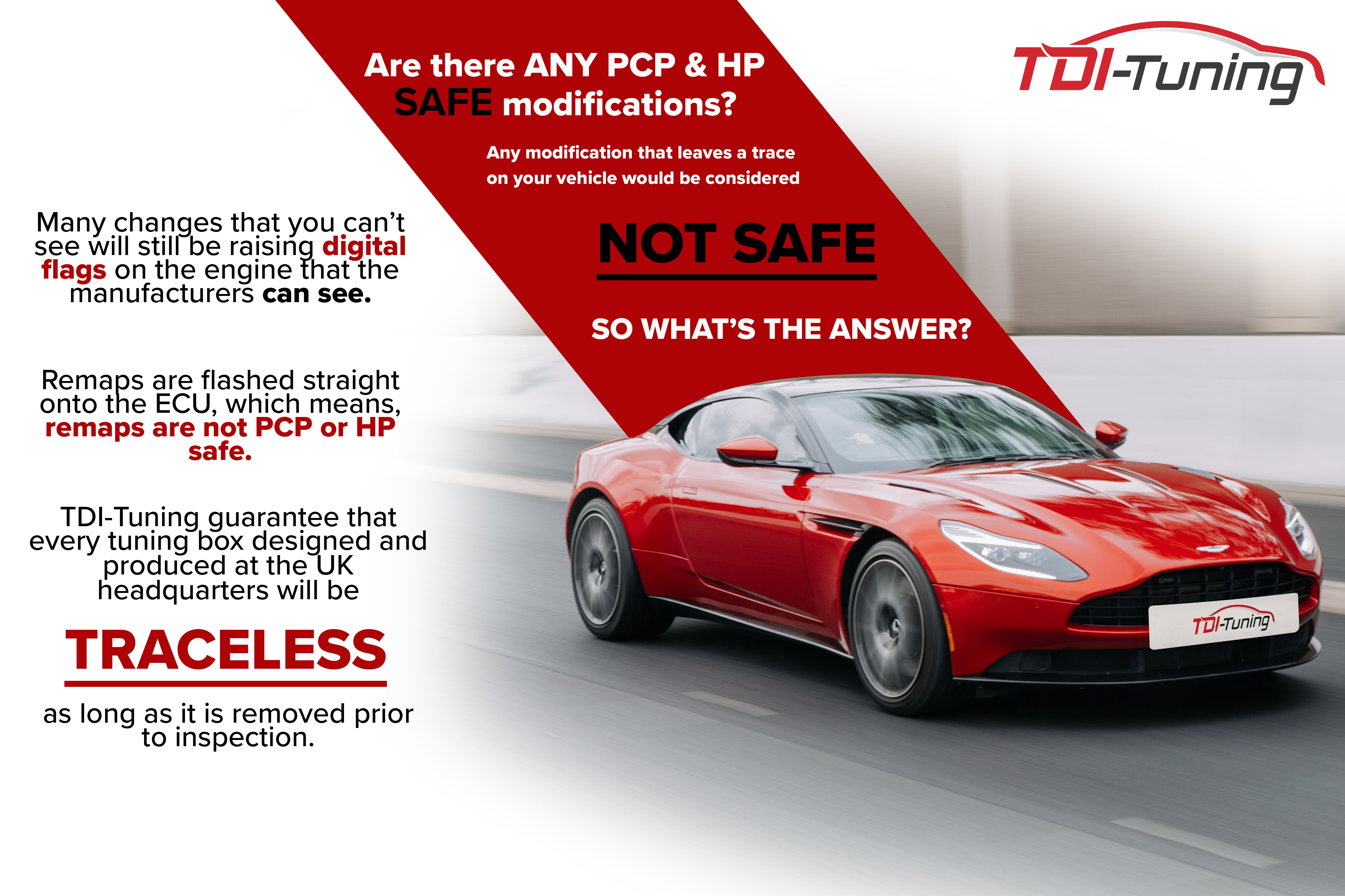 modifying a car on a PCP agreement