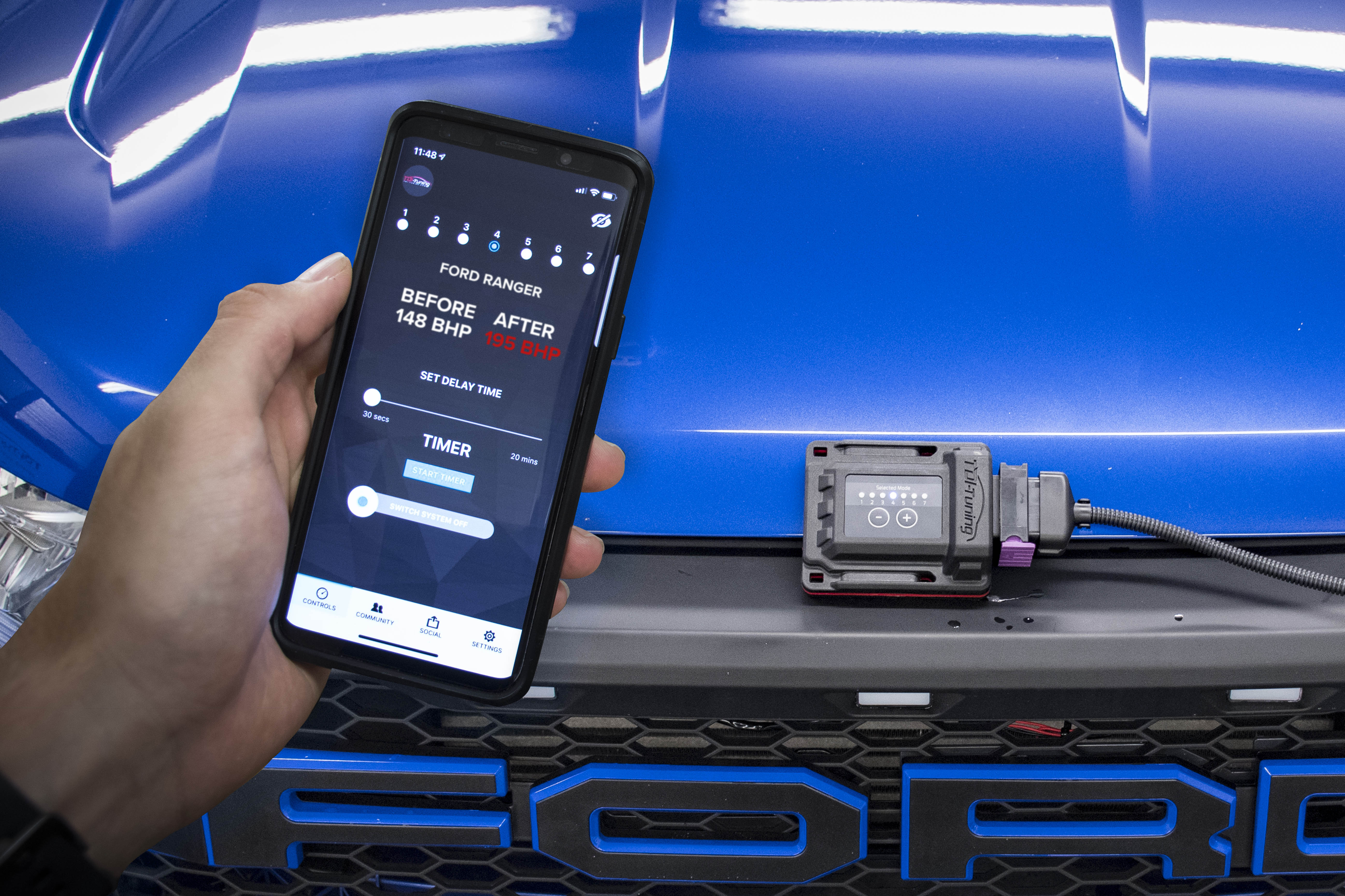 Ford ranger bluetooth tuning