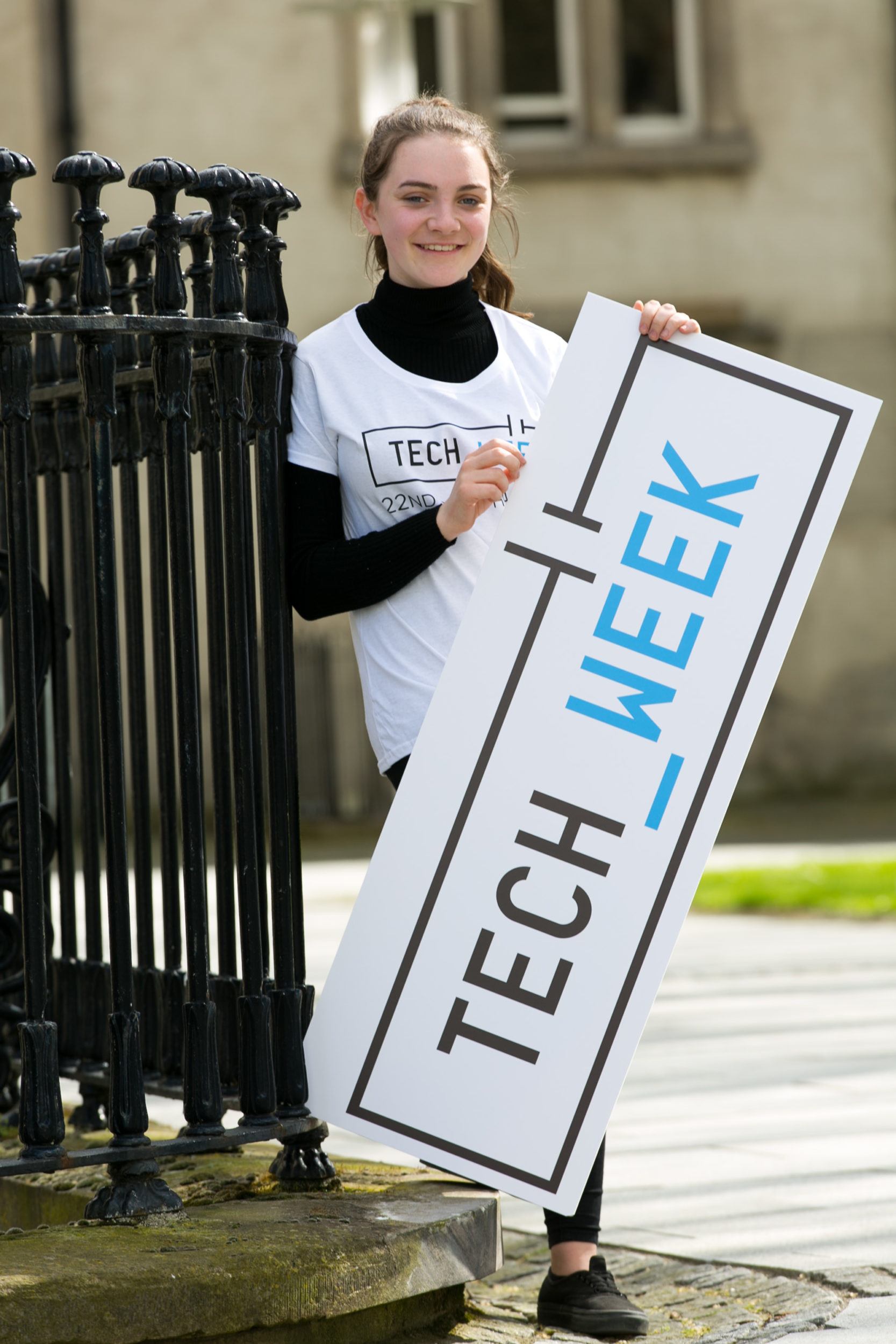 TECH WEEK IS BACK! Ireland's national festival of technology aimed at students, parents and the public, takes place all over Ireland this week and is sure to be a fun-filled week. Organised by the ICS Foundation, the social enterprise arm of the Irish Computer Society, and supported by Science Foundation Ireland (SFI) and Amazon Web Services (AWS), this exciting week of events will see over 120,000 students take part in a range of fun activities, including the finals of several national Tech Week events. Picture by Shane O'Neill, SON Photographic