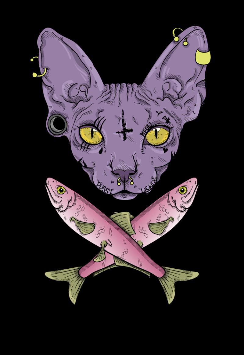 magliette personalizzate cat gatto