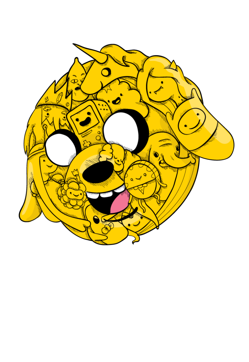 maglietta jake adventure time