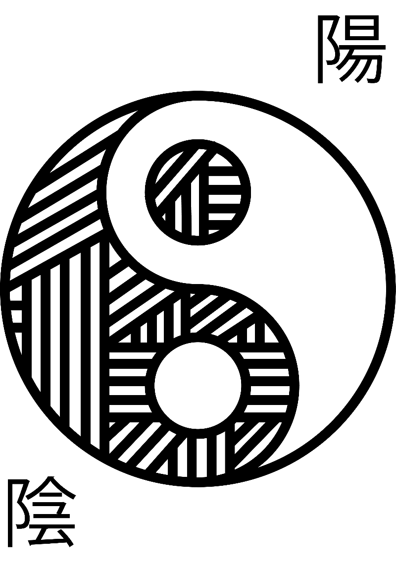 magliette personalizzate yin yang
