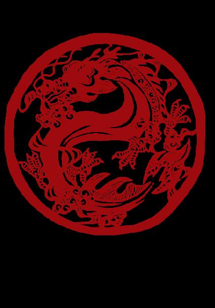 maglietta personalizzata drago
