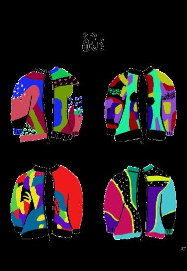 maglietta bomber jacket
