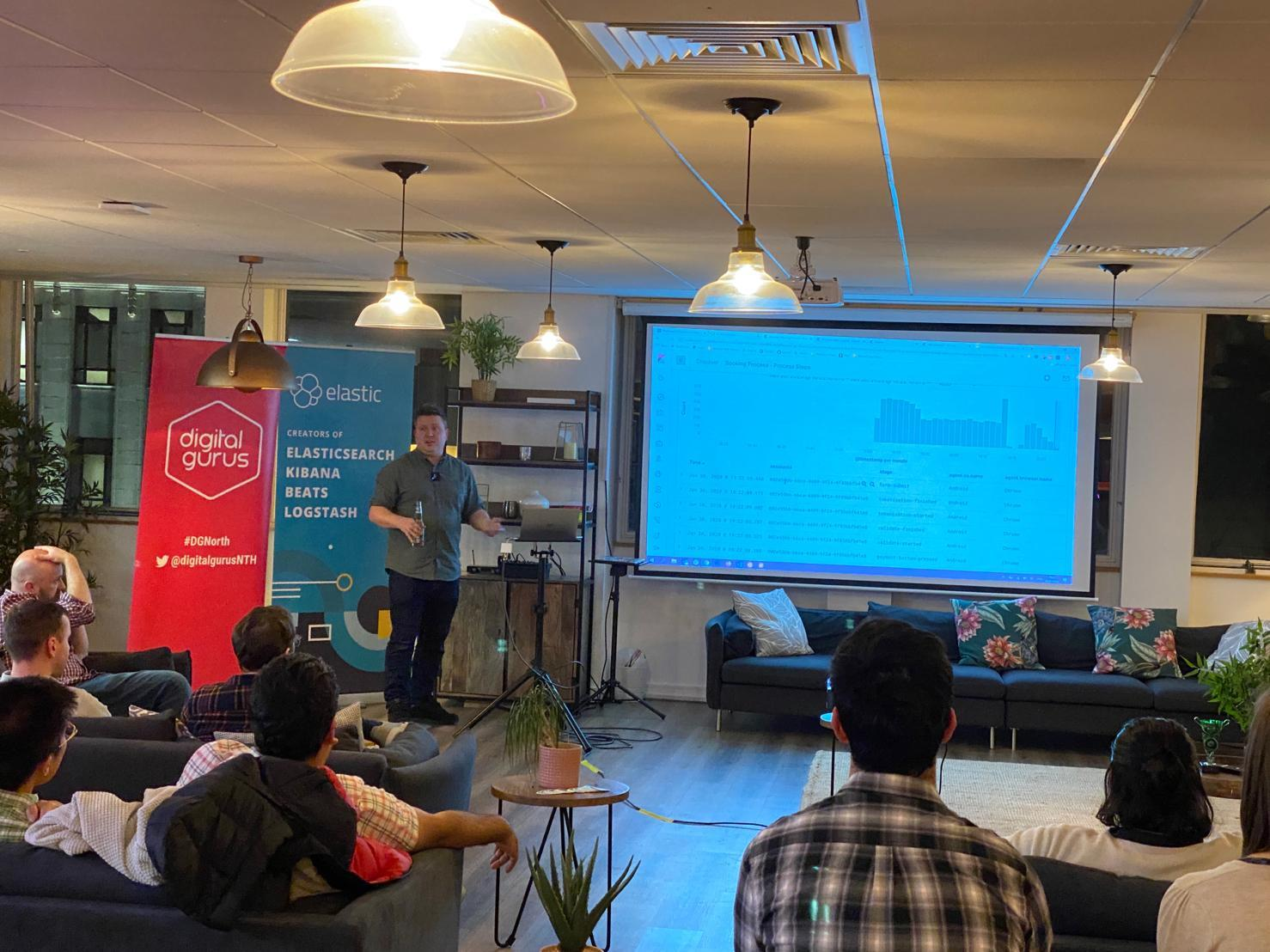 Elasticsearch Manchester Meetup talk - 30 Jan 2020 - Entity Centric Indexing with Elasticsearch Transforms