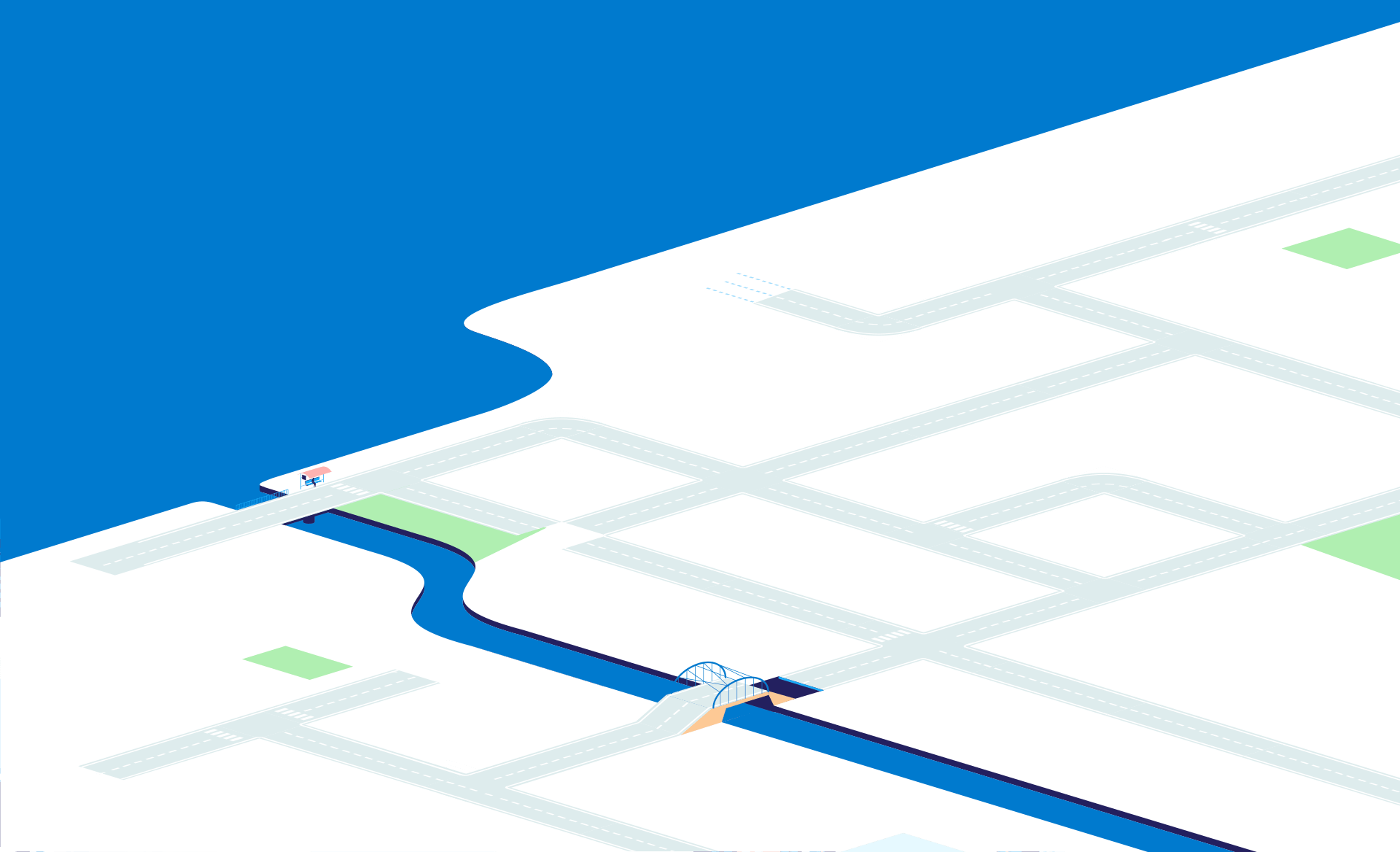 Backgroundimage roads