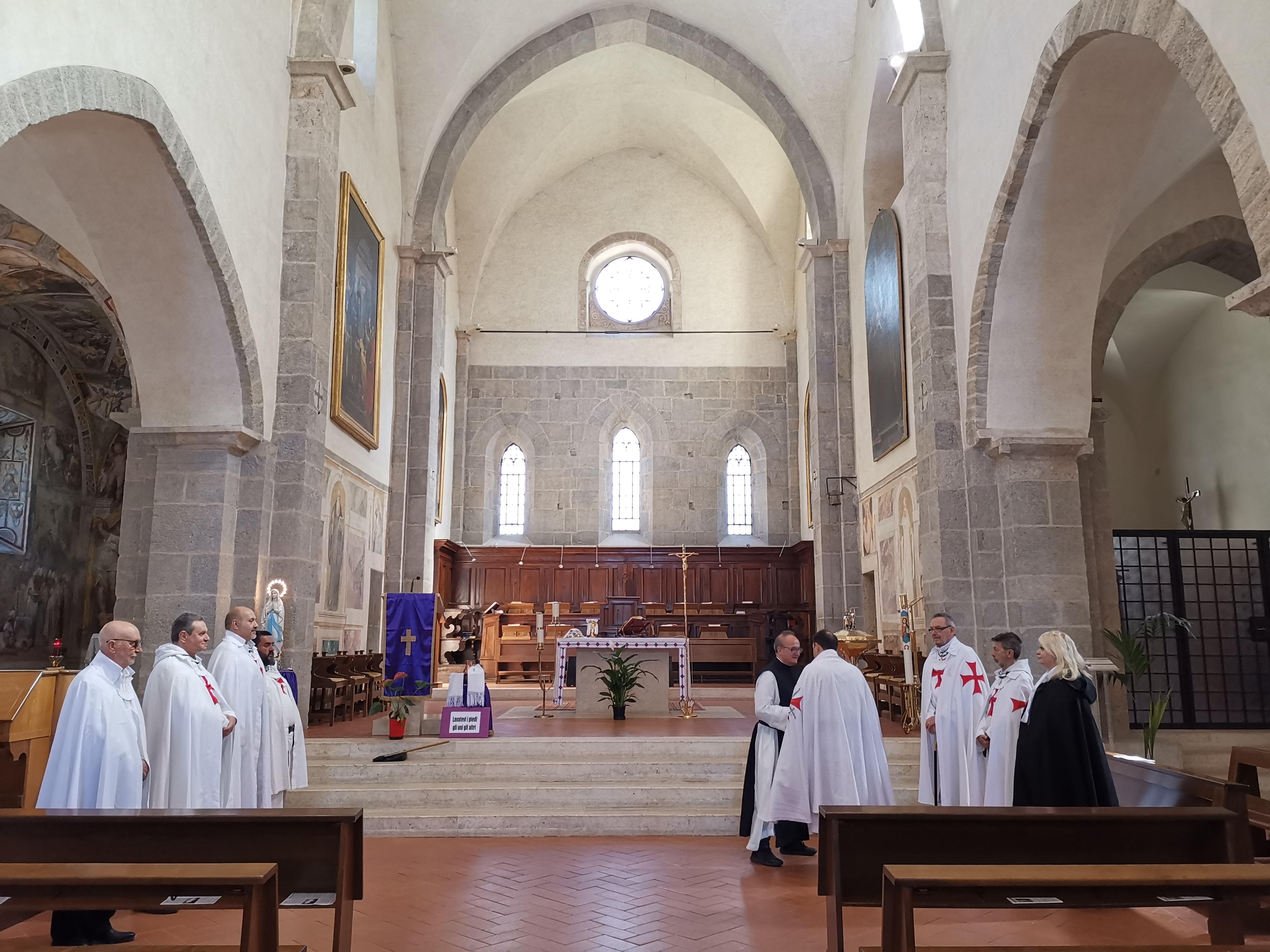 Valvisciolo: Custodia, presidio e Celebrazione Eucaristica