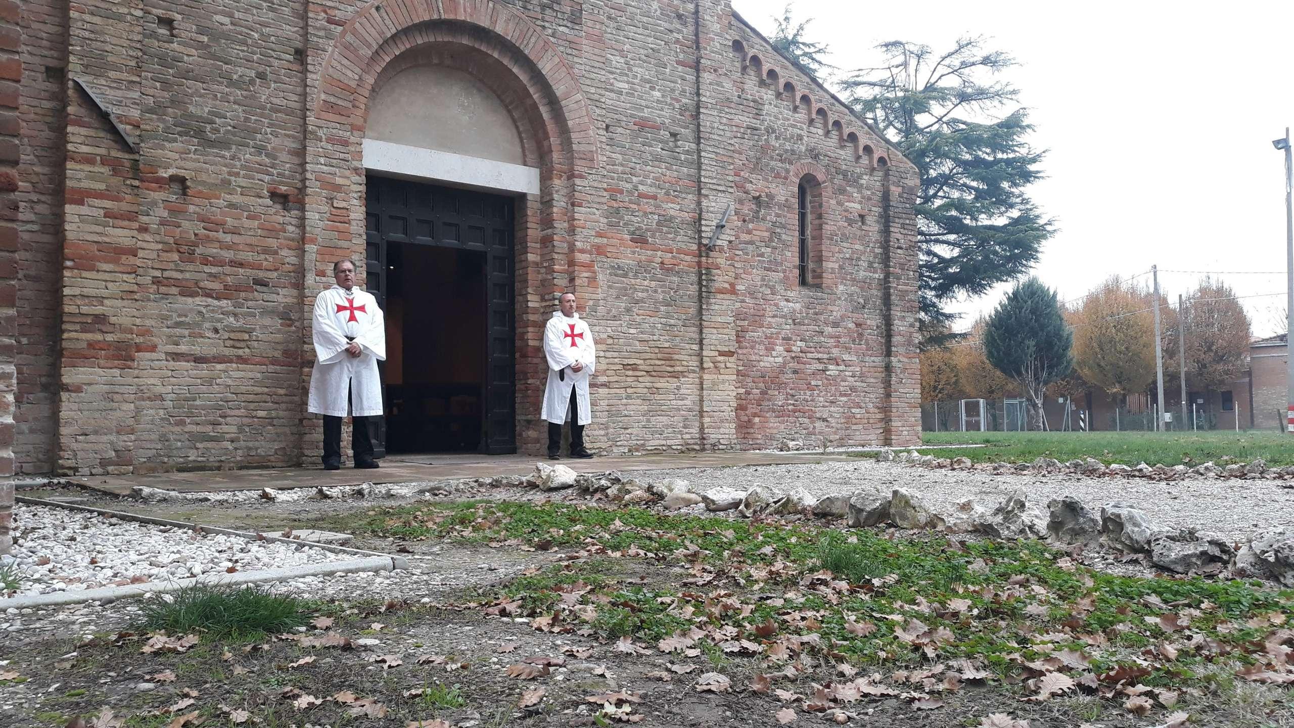 Turno di custodia – Pieve di Santa Maria in acquedotto – Forlì 01.12.2019