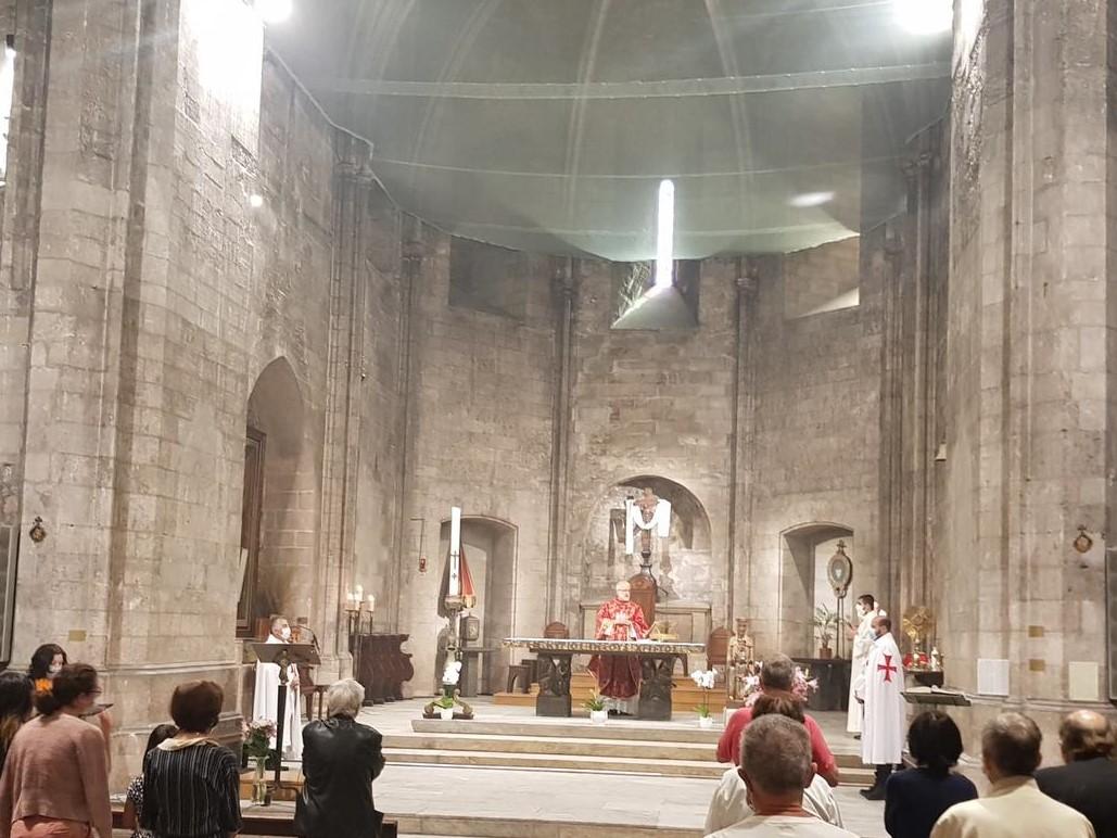 Les Templiers Catholiques de France participent aux Saintes Messes de Pentecôte 2020 dans l'abbaye de Saint Victor, Marseille