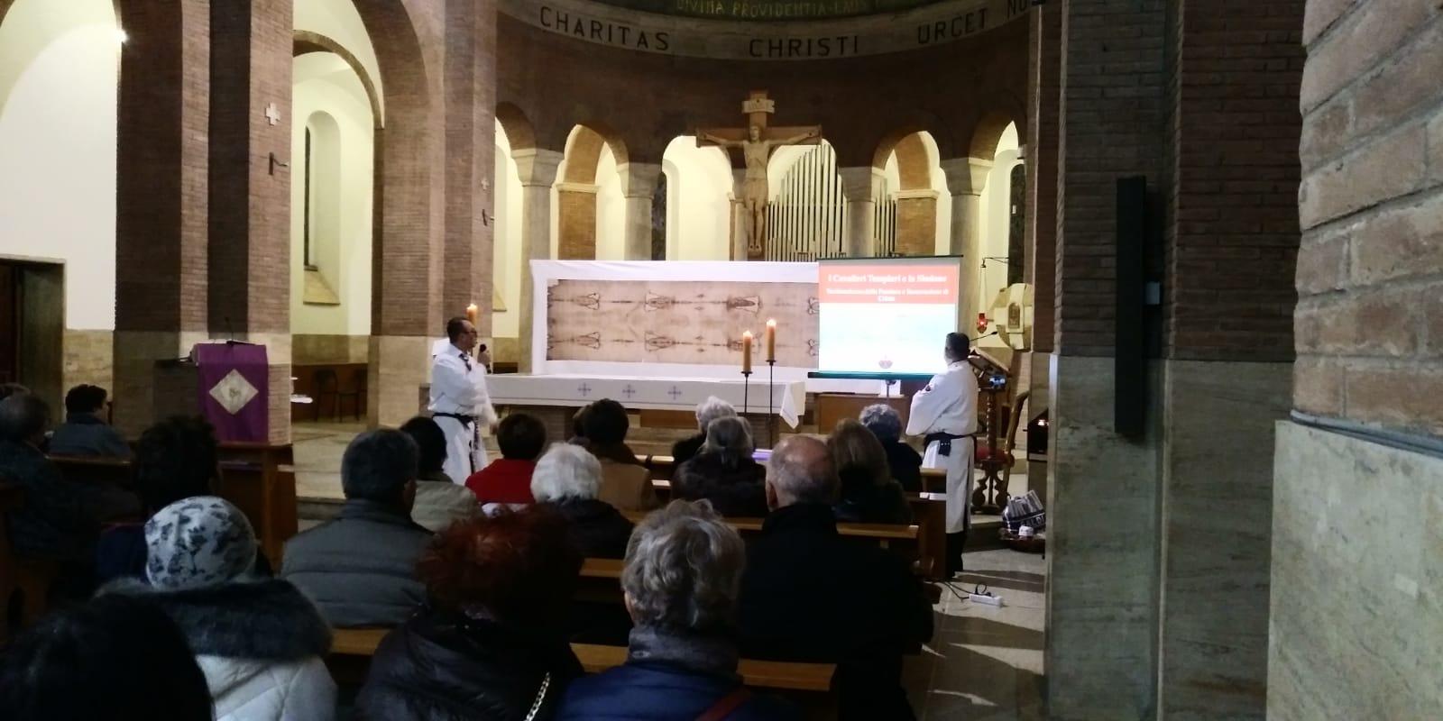 Esposizione della copia della Sacra Sindone – Chiesa di San Giuseppe Benedetto Cottolengo – Grosseto 28-29 feb 2020
