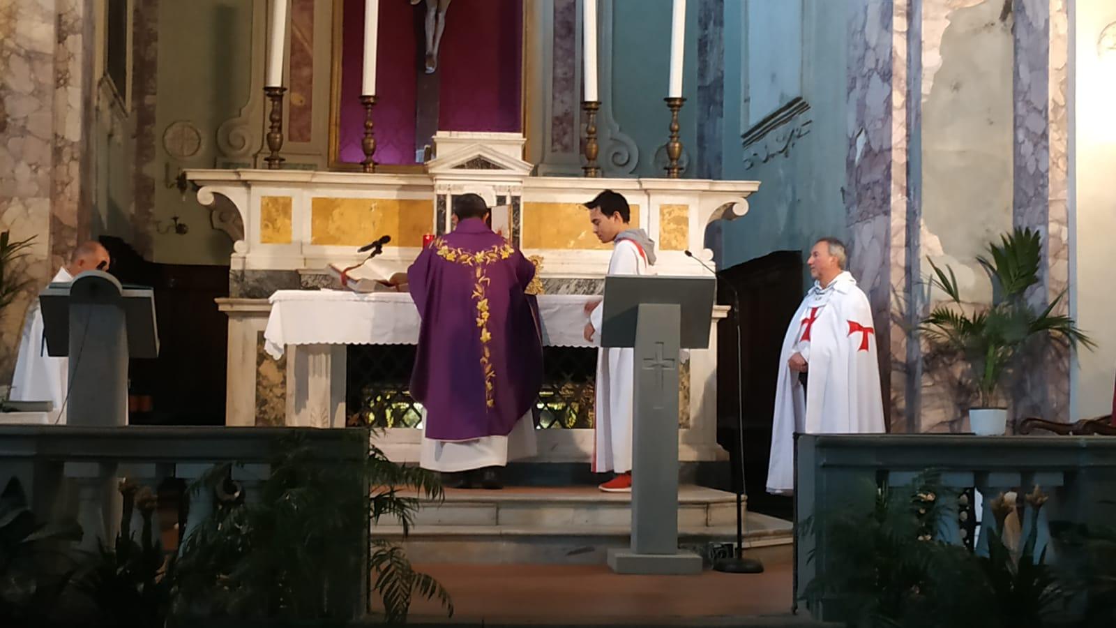 Santa Messa – Chiesa dei Santi Martino e Sisto – Vellano Pescia (PT) 1 mar 2020