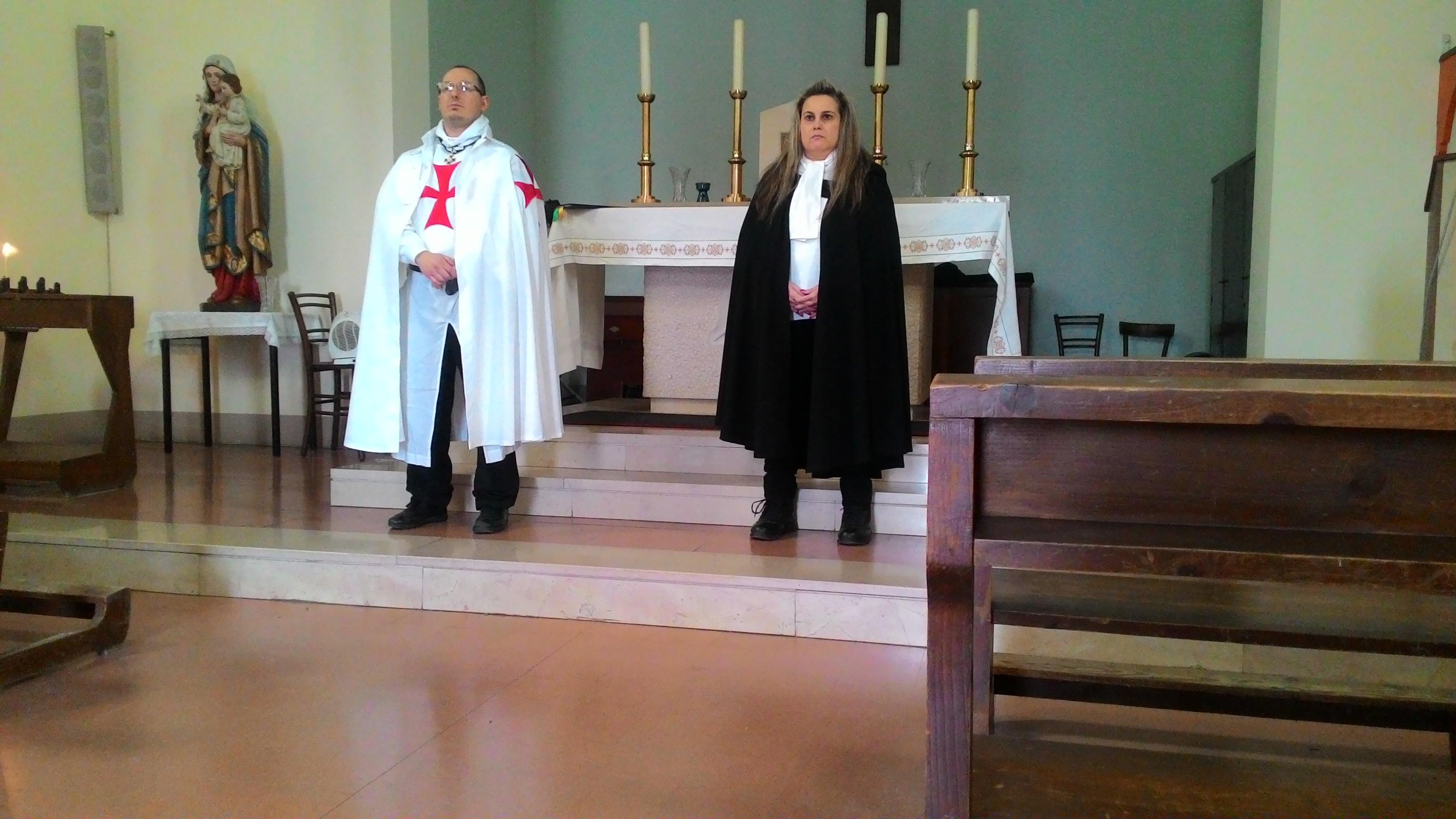 Apertura della Chiesa di San Giuseppe lavoratore a Ontraino (PI) 31 marzo 2019