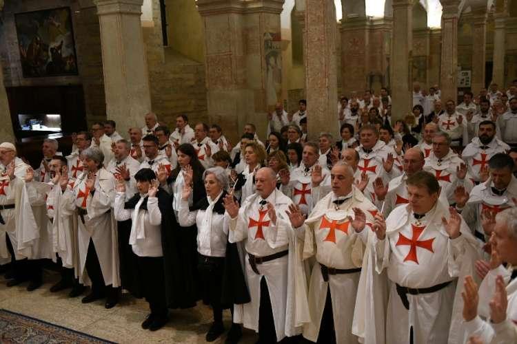 Verona san Fermo Maggiore Templari Cattolici d'Italia ipapante