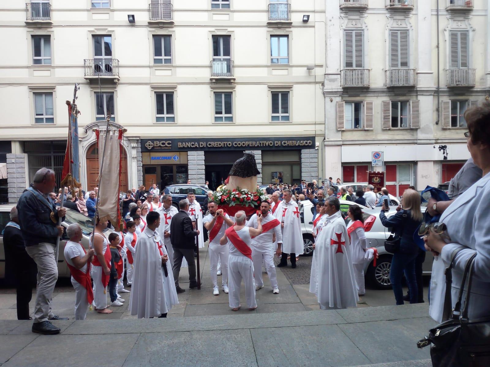 Celebrazione in onore di San Pellegrino Martire al Duomo di Torino