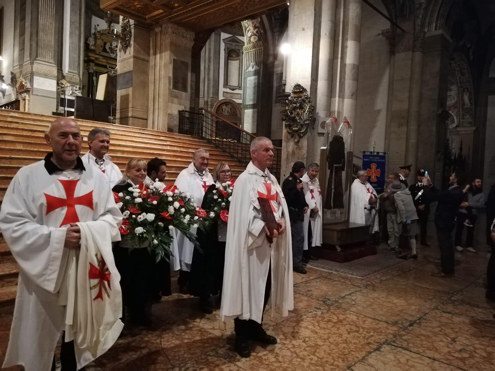 Accoglienza reliquie S. Pio da Pietralcina Parma 2019